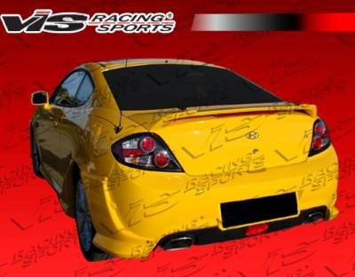 Tiburon - Rear Add On - VIS Racing - Hyundai Tiburon VIS Racing Tornado Rear Aprons - 07HYTIB2DTND-012