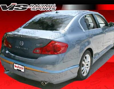 G35 4Dr - Rear Add On - VIS Racing - Infiniti G35 4DR VIS Racing VIP Rear Lip - 07ING354DVIP-012