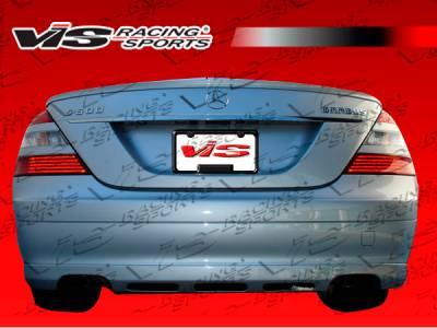 E Class - Rear Add On - VIS Racing - Mercedes-Benz E Class VIS Racing B-Spec Rear Center Diffuser - 07MEW2114DBSC-032