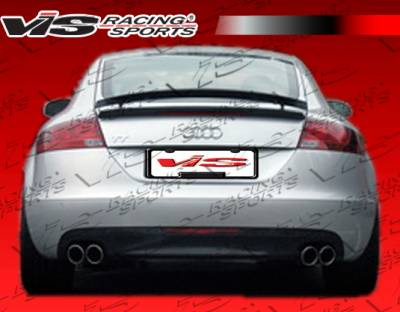 TT - Rear Add On - VIS Racing - Audi TT VIS Racing OS Rear Diffuser - 08AUTT2DOS-032
