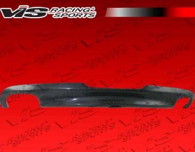 TT - Rear Add On - VIS Racing - Audi TT VIS Racing OS Carbon Fiber Rear Diffuser - 08AUTT2DOS-032C