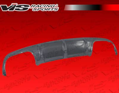 C Class - Rear Add On - VIS Racing - Mercedes-Benz C Class VIS Racing DTM Style Carbon Fiber Rear Diffuser - 08MEC634DDTM-032C