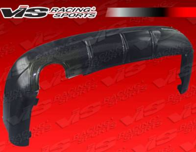 C Class - Rear Add On - VIS Racing - Mercedes-Benz C Class VIS Racing DTM Carbon Fiber Rear Diffuser - 08MEW2044DC63-012C