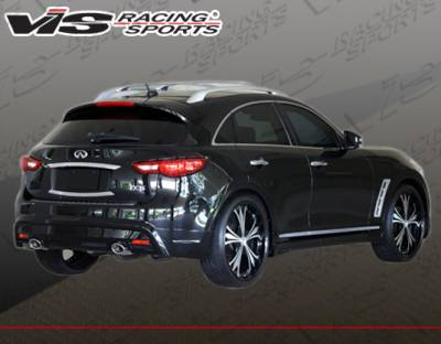 FX35 - Rear Add On - VIS Racing - Infiniti FX VIS Racing RMI Rear Lip - Polyurethane - 09INFX4DRMI-012P