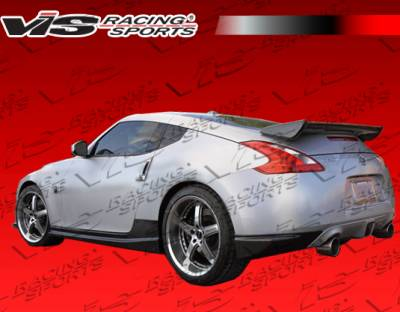 370Z - Rear Add On - VIS Racing - Nissan 370Z VIS Racing Techno R Rear Addon - Carbon Fiber - 09NS3702DTNR-012C
