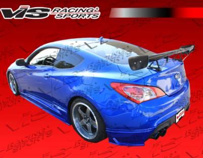 Genesis - Rear Add On - VIS Racing - Hyundai Genesis VIS Racing JPC Rear Apron - 10HYGEN2DJPC-012