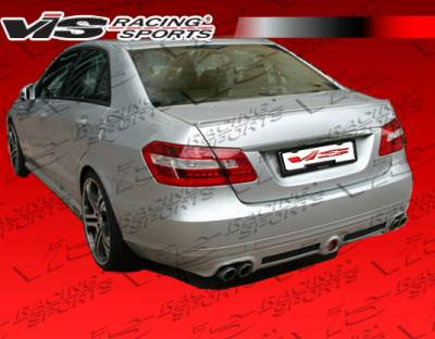 E Class - Rear Add On - VIS Racing - Mercedes-Benz E Class VIS Racing B Spec Rear Diffuser - 10MEW2124DBSC-032