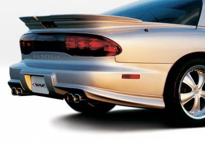 Firebird - Rear Add On - Wings West - Pontiac Firebird Wings West W-Type Lower Spat - Right Rear - 890189R