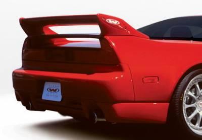 NSX - Rear Add On - Wings West - Acura NSX Wings West W-Type Spat - Left Rear - 890377L