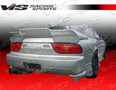 240SX HB - Rear Add On - VIS Racing - Nissan 240SX HB VIS Racing Invader Rear Addon - 89NS240HBINV-012