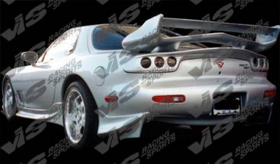 RX7 - Rear Add On - VIS Racing - Mazda RX-7 VIS Racing Invader Rear Addon - 93MZRX72DINV-012