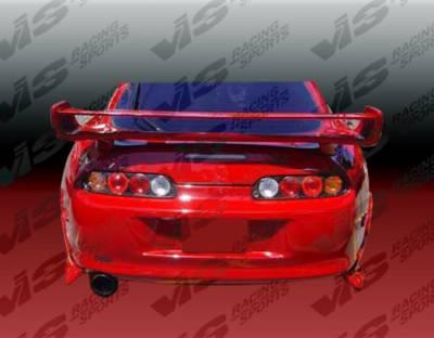 Supra - Rear Add On - VIS Racing - Toyota Supra VIS Racing Ballistix Rear Addon - 93TYSUP2DBX-012