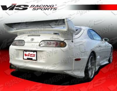 Supra - Rear Add On - VIS Racing - Toyota Supra VIS Racing Invader Rear Addon - 93TYSUP2DINV-012