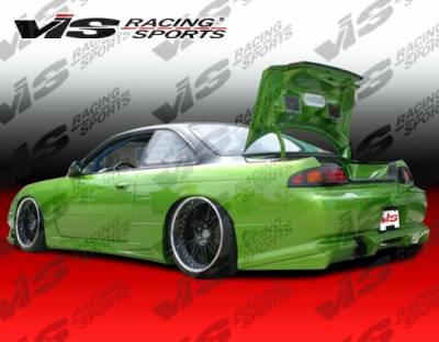 240SX - Rear Add On - VIS Racing - Nissan 240SX VIS Racing Ballistix Rear Addon - 95NS2402DBX-012