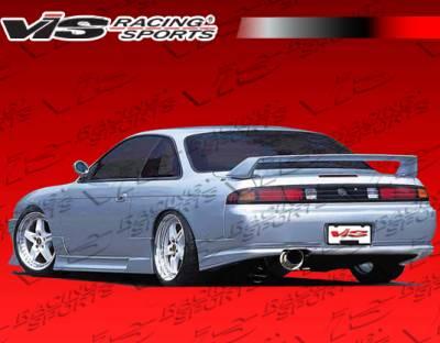240SX - Rear Add On - VIS Racing - Nissan 240SX VIS Racing G-Speed Rear Lip - 95NS2402DGSP-002
