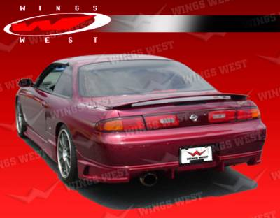 240SX - Rear Add On - VIS Racing - Nissan 240SX VIS Racing JPC Type N Rear Lip - 95NS2402DJPCN-012