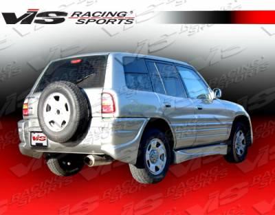 Rav 4 - Rear Add On - VIS Racing - Toyota Rav 4 VIS Racing Ballistix Rear Addon - 96TYRAV2DBX-012