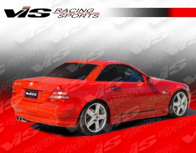 SLK - Rear Add On - VIS Racing - Mercedes-Benz SLK VIS Racing Laser Rear Lip - 97MER1702DLS-012