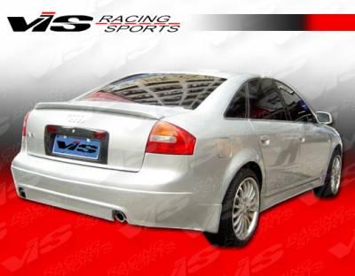 A6 - Rear Add On - VIS Racing - Audi A6 VIS Racing A-Tech Rear Lip - 98AUA64DATH-012