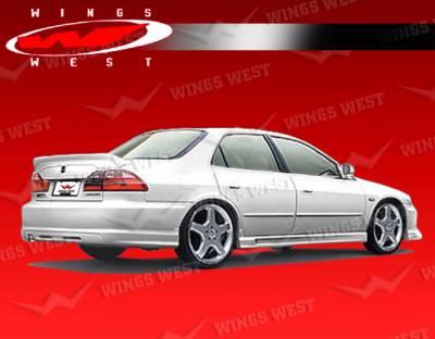Accord 4Dr - Rear Add On - VIS Racing - Honda Accord 4DR VIS Racing JPC Rear Lip - Polyurethane - 98HDACC4DJPC-012P