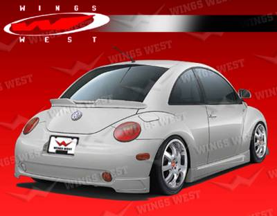 Beetle - Rear Add On - VIS Racing - Volkswagen Beetle VIS Racing JPC Rear Lip - Polyurethane - 98VWBEE2DJPC-012P