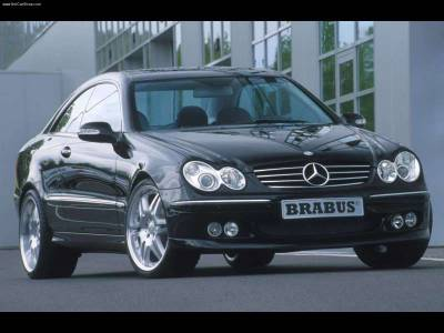 CLK - Body Kits - Brabus - Mercedes CLK W209 Aero Kit