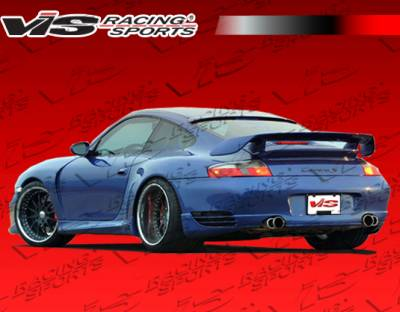 911 - Rear Add On - VIS Racing - Porsche 911 VIS Racing A-Tech 2 Rear Add-On Aprons - 99PS9962DATH2-012