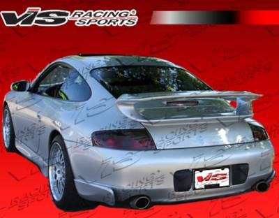 911 - Rear Add On - VIS Racing - Porsche 911 VIS Racing D3S Rear Add-On Aprons - 99PS9962DD3S-012