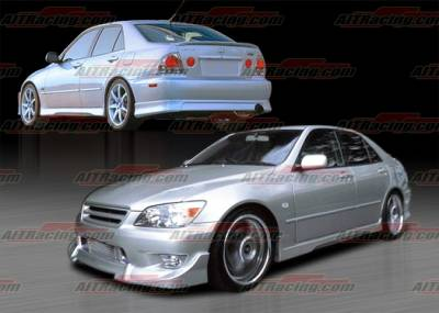 IS - Body Kits - AIT Racing - Lexus IS AIT Racing BZ Style Complete Body Kit - IS300HIBZSCK