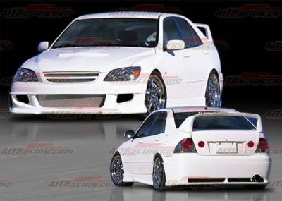 IS - Body Kits - AIT Racing - Lexus IS AIT Racing Falcon Style Complete Body Kit - IS300HIFALCK