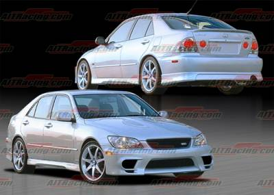 IS - Body Kits - AIT Racing - Lexus IS AIT Racing TRD Style Complete Body Kit - IS300HITRDCK