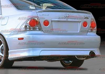 IS - Rear Bumper - AIT Racing - Lexus IS AIT Racing TRD Style Rear Bumper - IS300HITRDRB