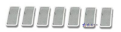 Grilles - Custom Fit Grilles - APS - Jeep Grand Cherokee APS Wire Mesh Grille - Upper - Stainless Steel - J76604T