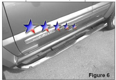 Suv Truck Accessories - Running Boards - APS - Jeep Liberty APS Side Step Nerf Bars - JB2104