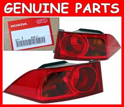 Headlights & Tail Lights - Tail Lights - 4 Car Option - Honda Accord 4 Car Option Taillights - JDM-LT-HA06