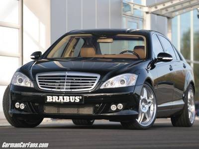 S Class - Body Kits - Brabus - Mercedes S-Class W221 Aero Kit