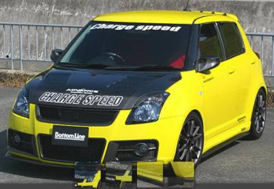 Swift - Body Kits - Chargespeed - Suzuki Swift Chargespeed Bottom Line Full Lip Kit