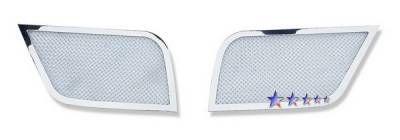Grilles - Custom Fit Grilles - APS - Lincoln MKS APS Wire Mesh Grille - L76778T