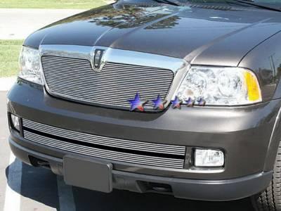 Grilles - Custom Fit Grilles - APS - Lincoln Navigator APS Billet Grille - Upper - Aluminum - L85017A