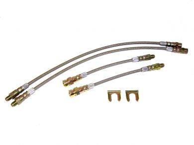 Brakes - Brake Lines - Custom - Stainless Steel Brake Line Kit