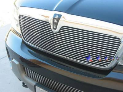 Grilles - Custom Fit Grilles - APS - Lincoln Navigator APS Billet Grille - Upper - Stainless Steel - L85376S