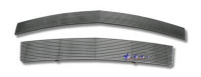 Grilles - Custom Fit Grilles - APS - Lincoln MKZ APS Billet Grille - Upper & Bumper - Aluminum - L86624A