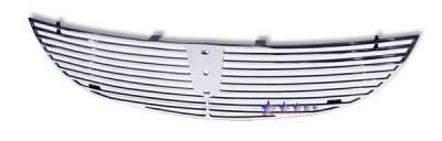 Grilles - Custom Fit Grilles - APS - Lincoln LS APS CNC Grille - Upper - Aluminum - L95776A