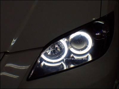 Headlights & Tail Lights - Headlights - Custom - CCFL Angel Eye Kit