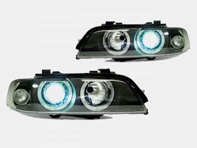 Headlights & Tail Lights - Headlights - Custom - E39 97-00 HID Headlights Kit