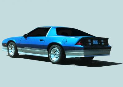 Camaro - Rear Bumper - Xenon - Chevrolet Camaro Xenon Rear Valance - 5105