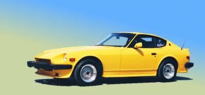 240Z - Rear Bumper - Xenon - Nissan 240Z Xenon Rear Valance - 5127