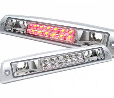 Headlights & Tail Lights - Third Brake Lights - 4 Car Option - Dodge Ram 4 Car Option LED Third Brake Light - Silver - LB3-DR94LEDCS-6