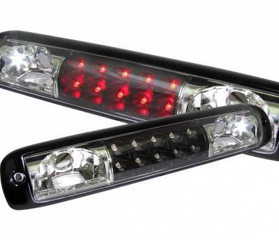 Headlights & Tail Lights - Third Brake Lights - 4 Car Option - GMC Sierra 4 Car Option LED Third Brake Light - Black - LB3-GSV99LEDJB-6