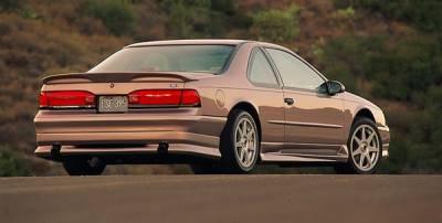 Thunderbird - Rear Bumper - Xenon - Ford Thunderbird Xenon Rear Valance - 5474